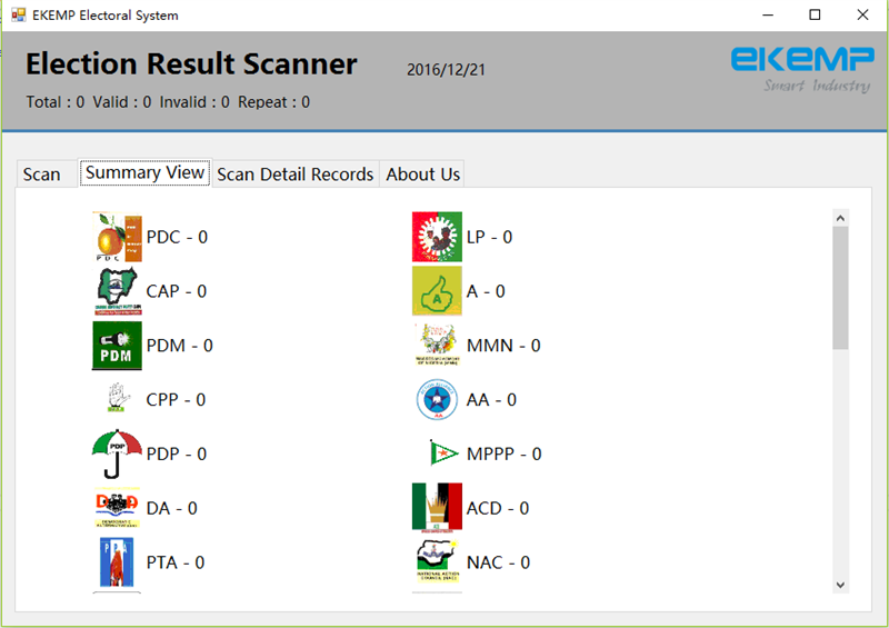 Election Result Scanner